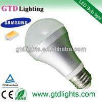 High quality Samsung 3000k 380 lumen a60 24v 5w e27 led lamp
