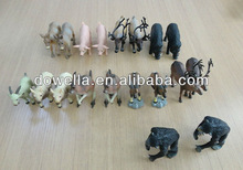 bulk plastic animal toys/ realistic/real toy animal