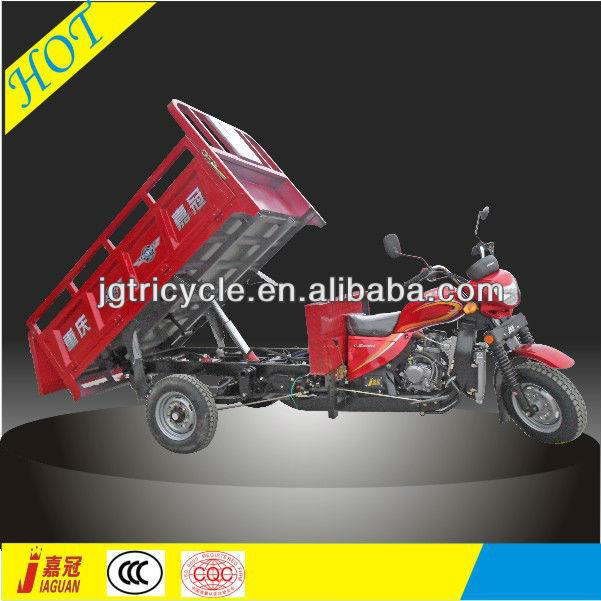 CN utility rubbish hydraulic dump motor tricycle