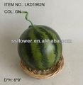 2013 artificielle faux Fruits 6 * 9 polegada artificielle Polyfoam pastèque maison décoration