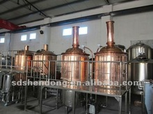 2.0T stainless steel or red copper brewery equipment
