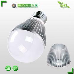3W 5W 7W E27 E14 led bulb zhongtian