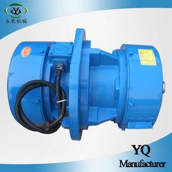 YQA high efficiency waterproof electric vibrating screen motor