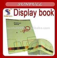 2012 fashion Color printing display book