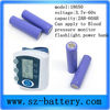 Rechargeable Lithium Ion Medical Battery Pack Cylinder
