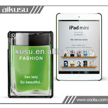 New and fashion design pu case for ipad mini