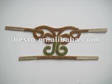 BSU0065 Fashion handmade ladies shoe vamp with rhinestone