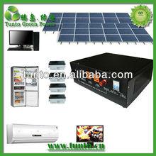 Enviromently friendly 3kW Solar Power Generator - Hot Sale in Africa & Asia