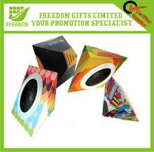 Popular Various Shape Foldable Paper Speaker