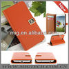 High quality Flip wallet leather case for samsung Smartphone, for samsung galaxy S4 case