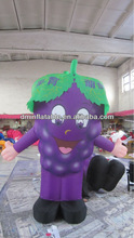 Hot sale inflatable grape replicas for advertisement