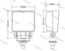 ShengWell auto 33W 9--32V Epistar LED work light IP67 factory directly 12month warranty car led work light 4x4 led work light