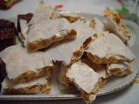 "Spanish Almond nougat confection ""Turron"""