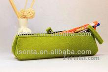 Custom felt pencil pouch/pencil bag/pencil case for promotion