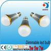 High lumens 7w AC85-265V LED bulb dimmable E27 envases+para+la+bombilla