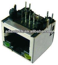 (8p8c,6p6c,6p4c,4p4c,4p2c) rj45 female connector