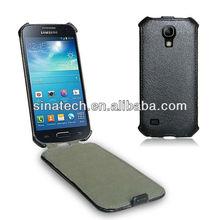 s4 mini case,leather cover heat setting craft for samsung galaxy s4 mini case