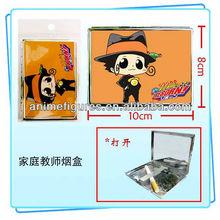 Manga Metal cigarette case / cigarette box with Hitman Reborn Anime Pattern