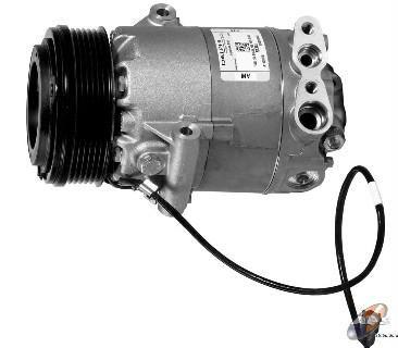 VW Gol compressor PV6 groove 6 cylinder Pulley Diameter 109/105mm R-134A 12V OEM NO CS10045 5X08 ...