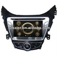 central multimidia for Hyundai Elantra with GPS/Bluetooth/Radio/SWC/Virtual 6CD/3G internet/ATV/iPod/720P RM/720P RMVB