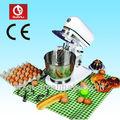 Misturador de massa de ovos, farinha de trigo, leite, creme