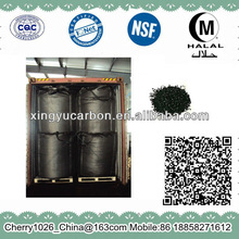 Activated Charcoal Products for Water Filter by Steam Activation