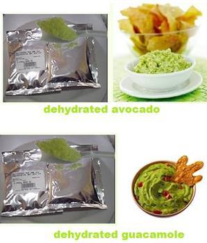 dehydrated avocado