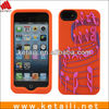 2013 Epoxy Staff silicone cell phone cover for iphone 5