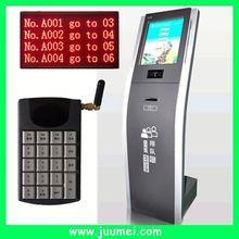 self service information kiosk three lines/digital tube screen transportation management system