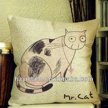 Soft sofa cushion of animals/ Cat design cushion covers