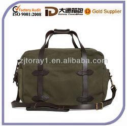 Medium Designer Canvas Pu Travel Bags For Men