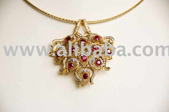 RUBY PENDANT (GOLD CHAIN IS NOT INCLUDED) products, buy RUBY ...