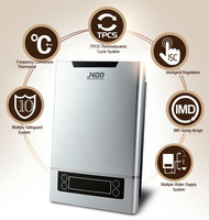 Adjustable temperature high tech electric tankless water heater