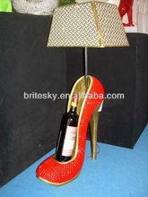 Winerack Shoe diamond look Decorative Table Lamp