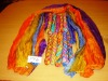 Item# 193 Silk multi color Pario Scarves