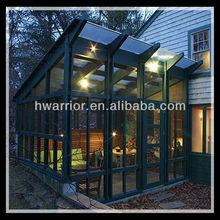 Aluminum glass sun house with good design