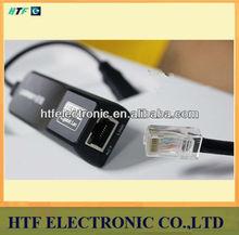 Full test OEM MINI 10/100/1000M USB3.0 Plug&play Gigabit Wired Network card adapter