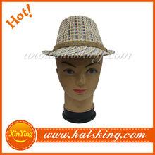 wholesale and custom good quality make fedora hat