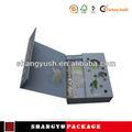 Materiais reciclados caixa barato, reciclado de doces de papel caixa de embalagem, livro cosméticos embalagem compacta,