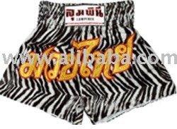 Muay Thai Shorts (Zebra Design)