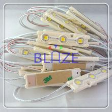 High Brightness 20LM/led 3 LED Light Module 5050 12V Waterproof White Blue Green