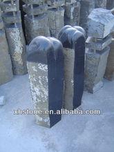 garden basalt pillar for landscaping