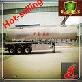 42.6 cbm, 3 eixo, alumínio tanque semi- trailer de mesa com dimensões do caminhão