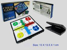 mini aeroplane chess folding board game