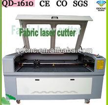 Cloth Label Laser Machine/Cotton Fabric Laser Cutting/Button Engraving Machine of Laser QD-1610-2
