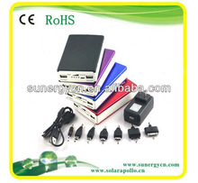 5V dual usb 20000mah move travel mobile power bank