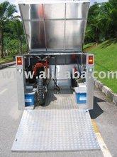 Enclosed motorbike trailer