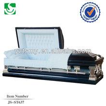 JS-ST637 metal casket costs