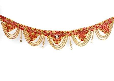 Golden Bead Toran