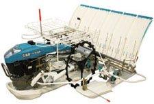 Kubota Used Rice Transplanter-walk model